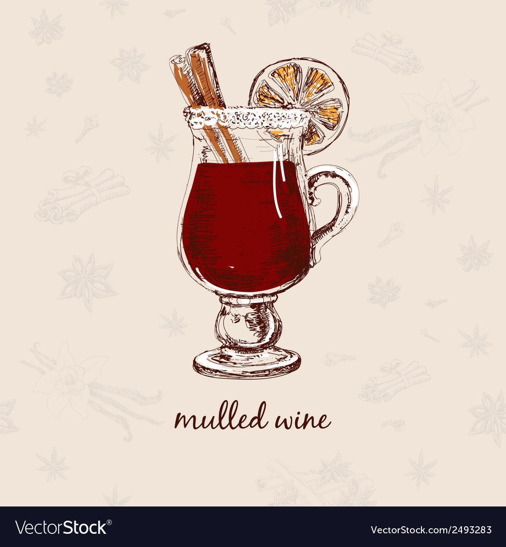 Mulled wine vector | Price: 1 Credit (USD $1)