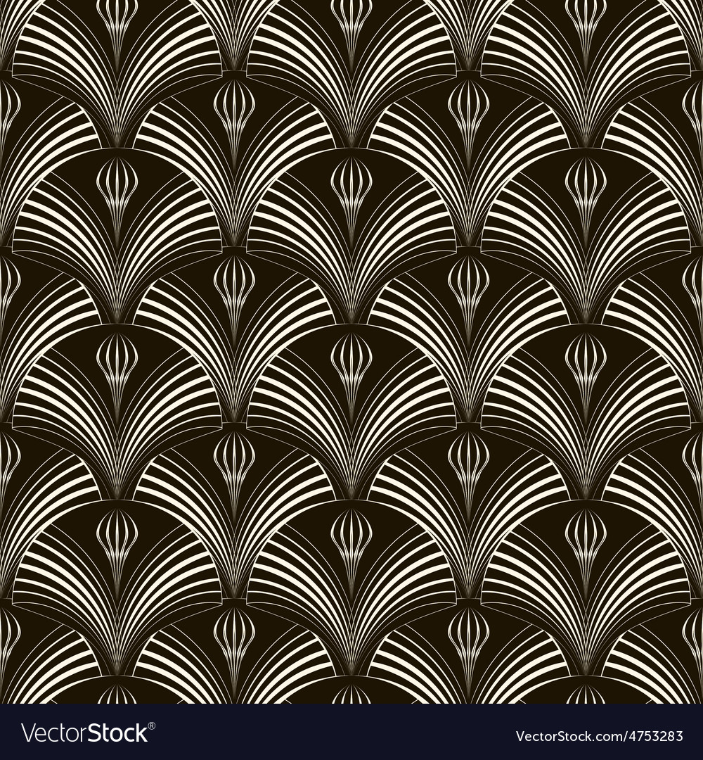 Seamless pattern with stylish elements repeating vector | Price: 1 Credit (USD $1)