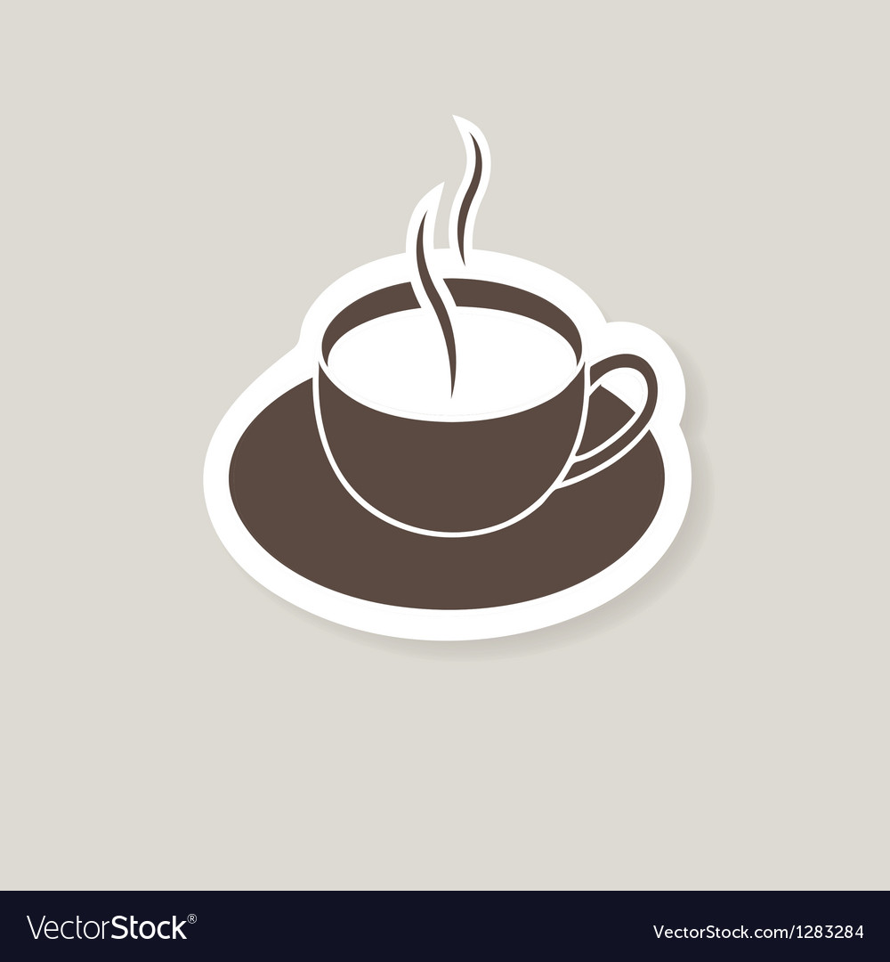 Cup of coffee for bar or cafe vector | Price: 1 Credit (USD $1)