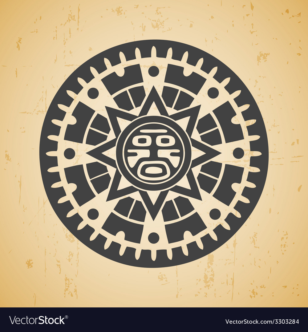 Maya sun vector | Price: 1 Credit (USD $1)