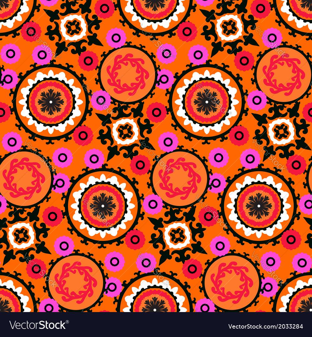 Suzani pattern vector | Price: 1 Credit (USD $1)