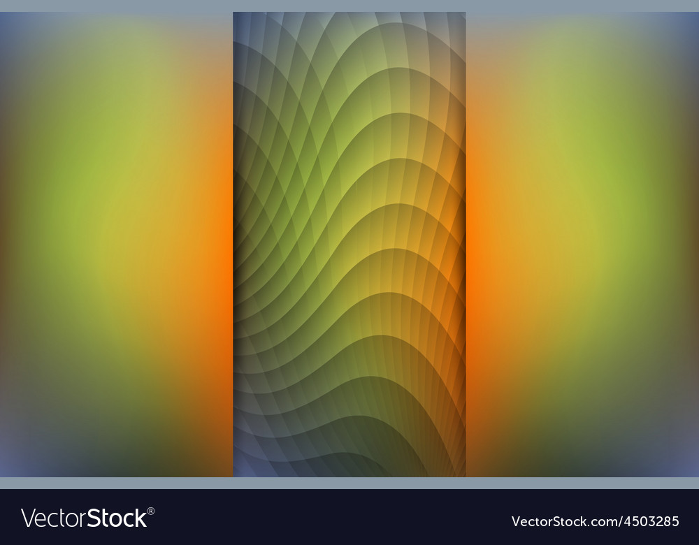 Fall season colored abstract background vector | Price: 1 Credit (USD $1)