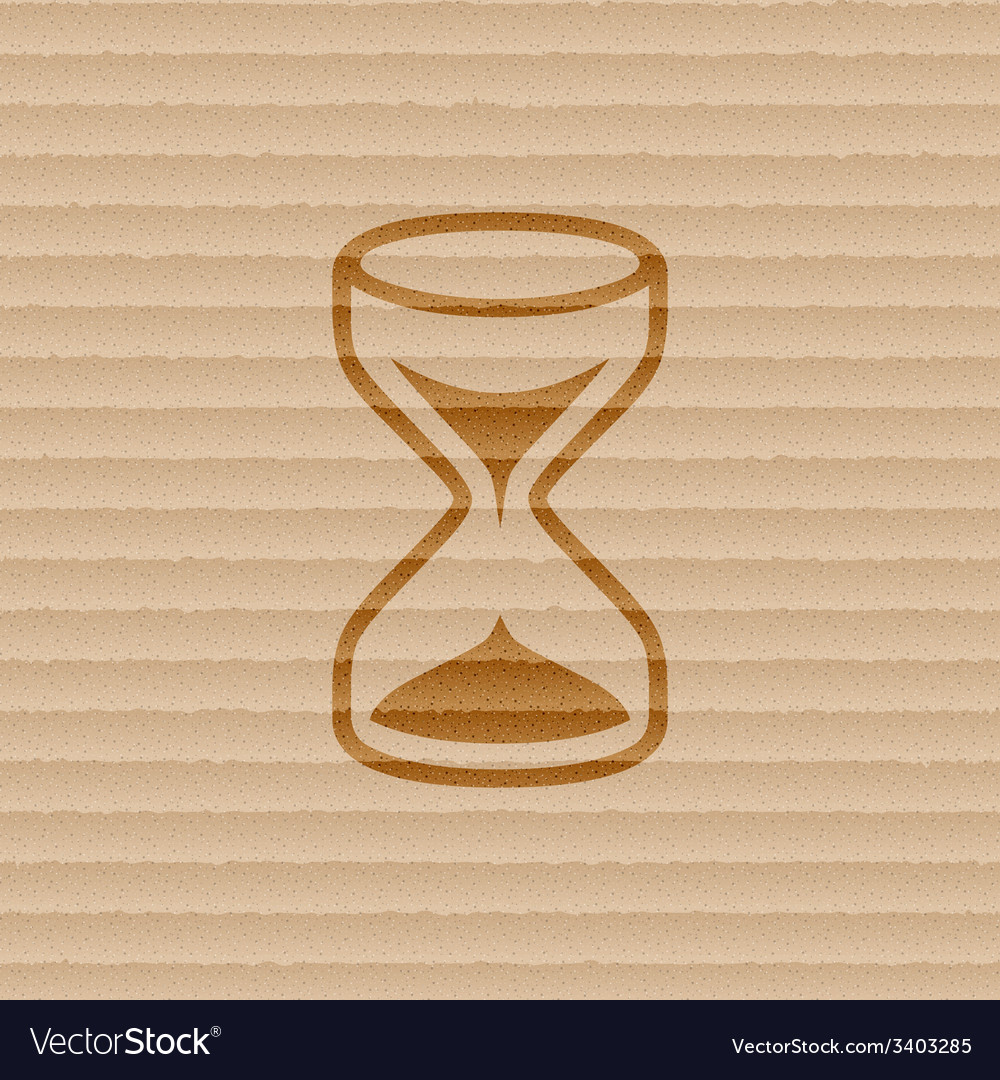 Hourglass icon symbol flat modern web design with vector | Price: 1 Credit (USD $1)