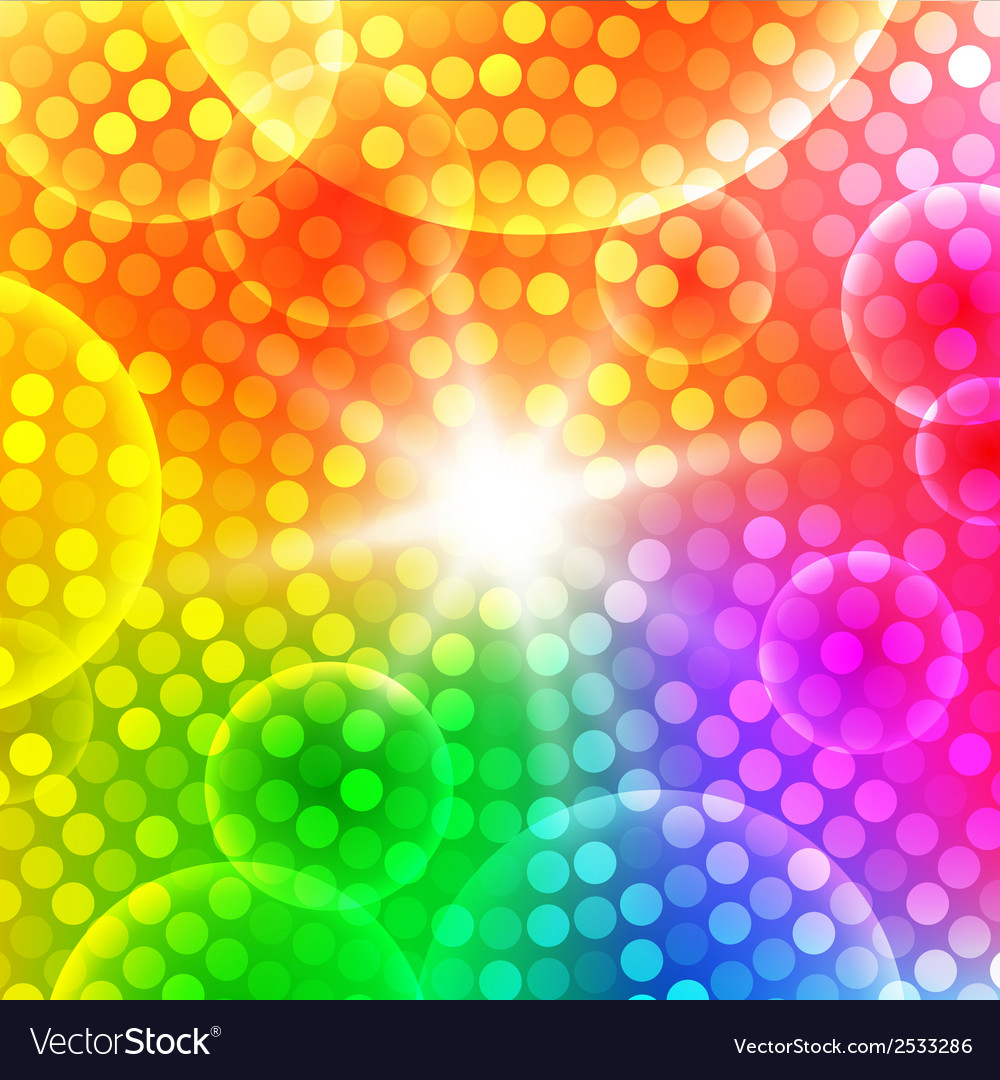 Abstract circular colorful background for your des vector | Price: 1 Credit (USD $1)