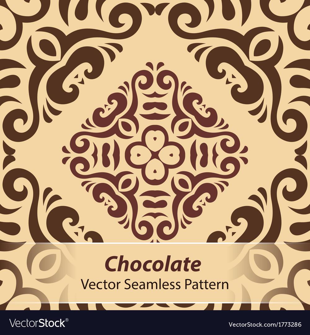Chocolate seamless pattern vector   Price: 1 Credit (USD $1)