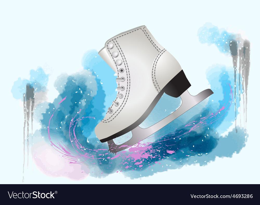 Figure skating vector | Price: 1 Credit (USD $1)