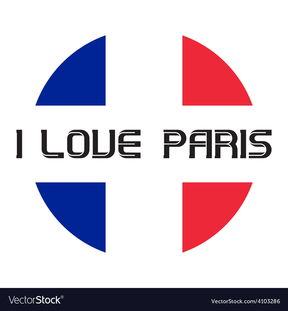 I love paris t-shirt templates vector | Price: 1 Credit (USD $1)