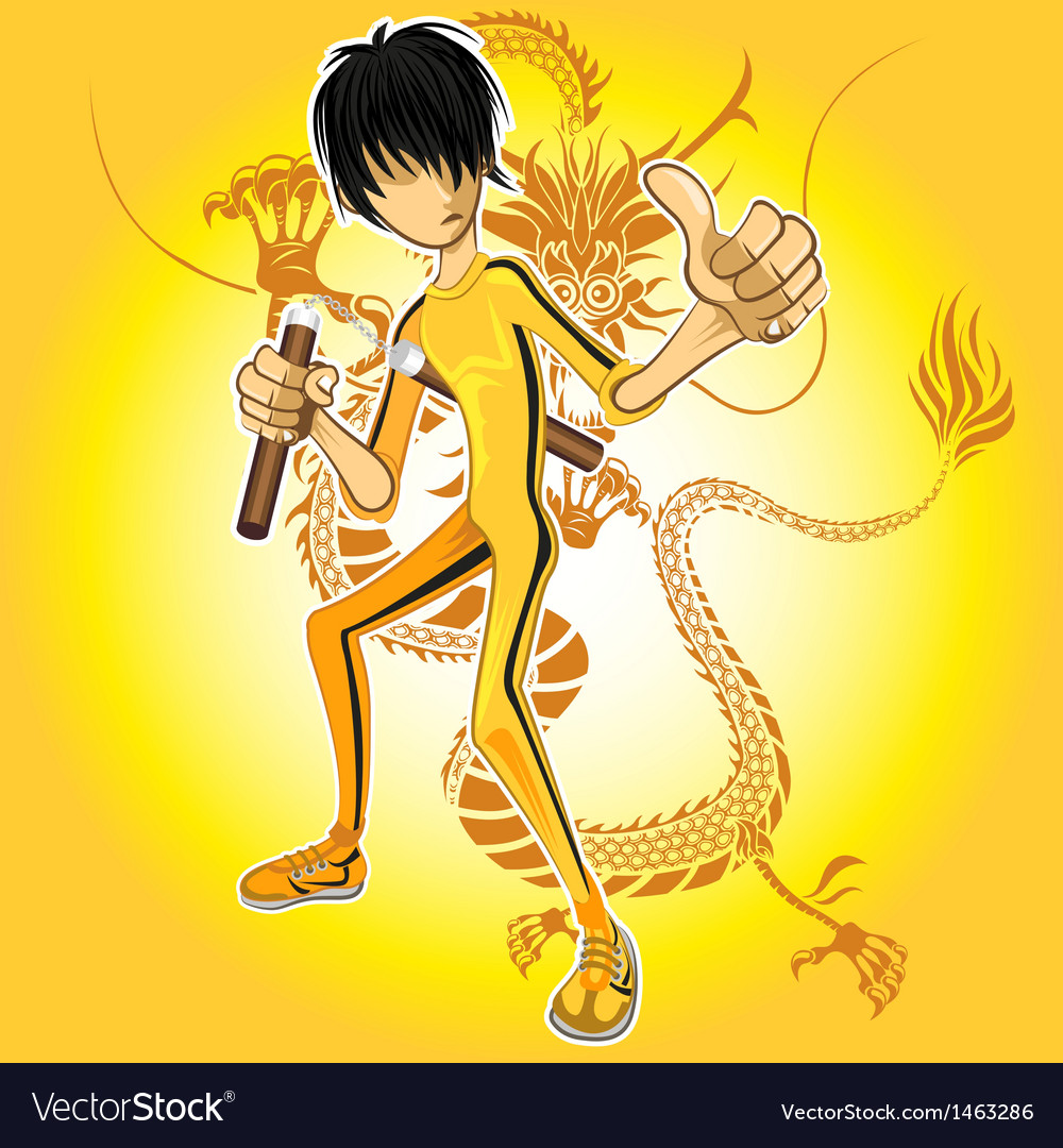 Kungfu master vector   Price: 3 Credit (USD $3)