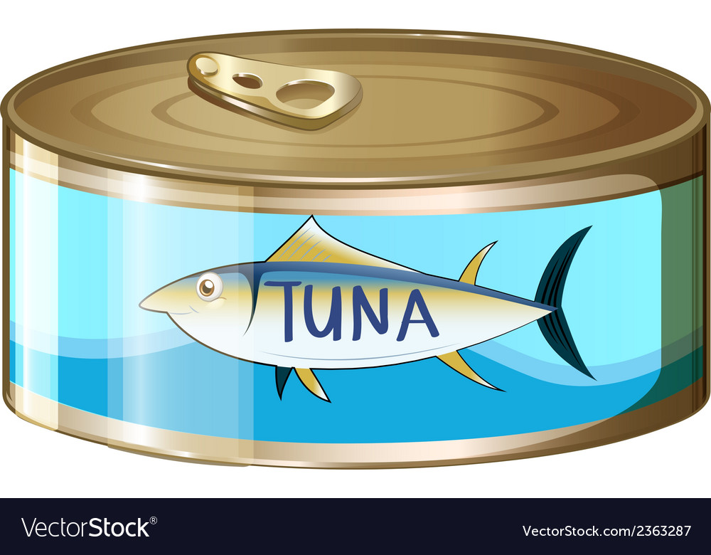 A can of tuna vector | Price: 1 Credit (USD $1)
