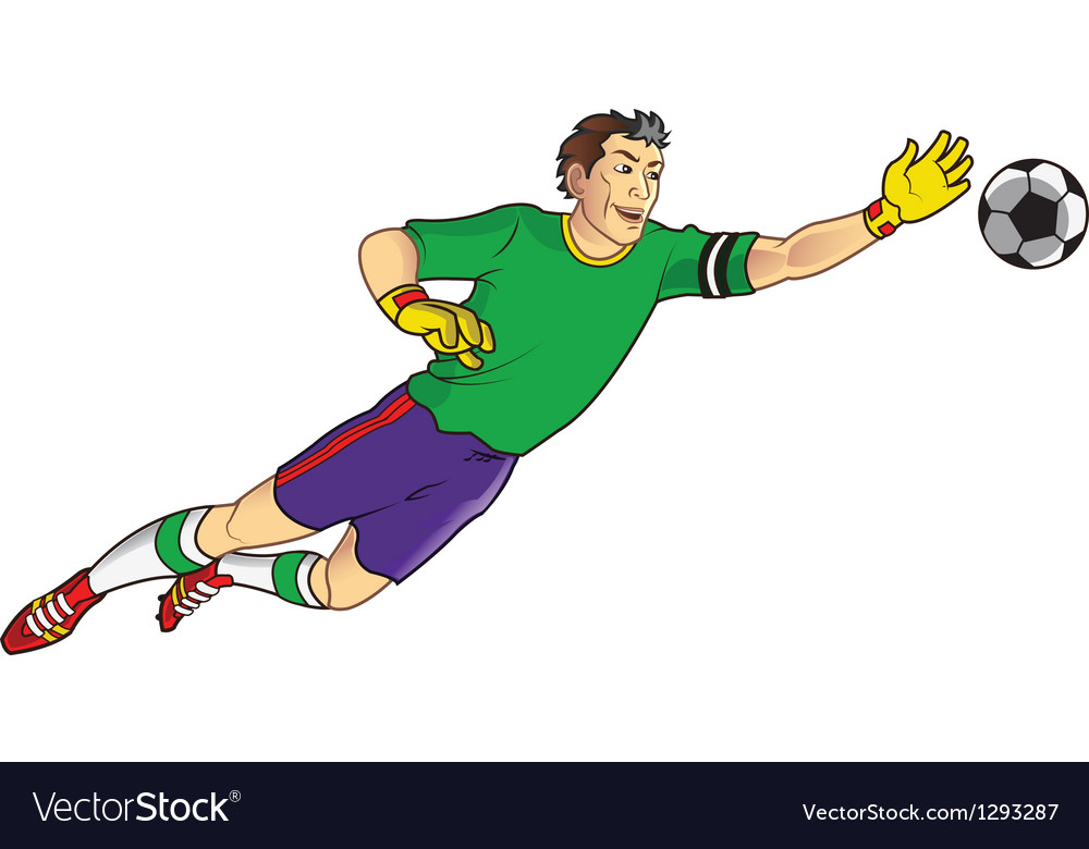 Goal keeper vector | Price: 3 Credit (USD $3)
