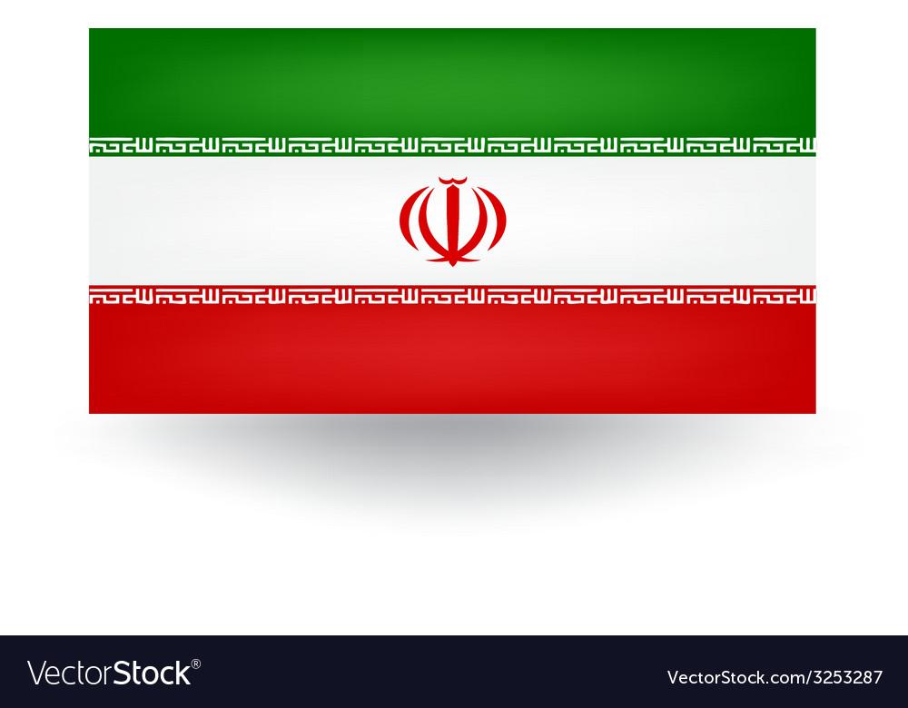 Iran flag vector   Price: 1 Credit (USD $1)