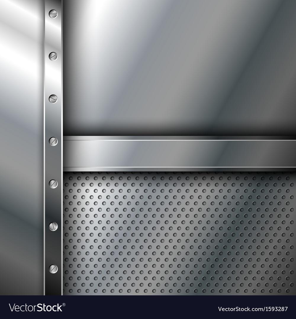 Metallic background vector | Price: 1 Credit (USD $1)