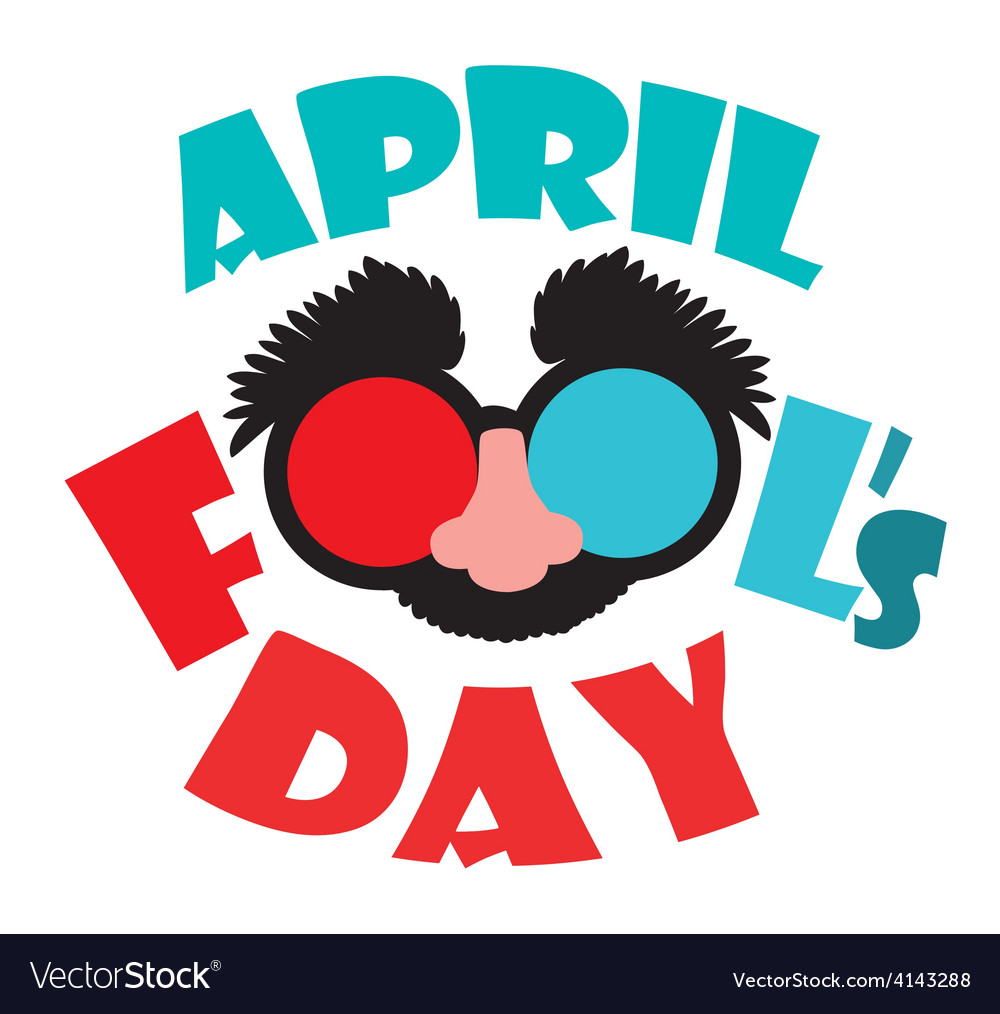 April fools day design vector | Price: 1 Credit (USD $1)