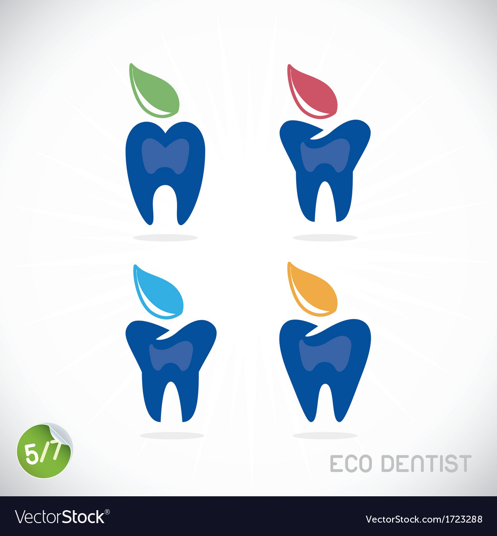 Dentist symbols vector | Price: 1 Credit (USD $1)