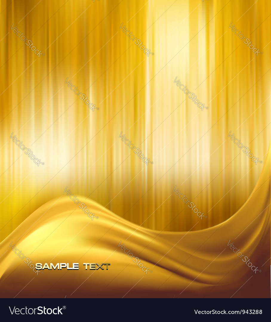 Gold neon abstract background vector | Price: 1 Credit (USD $1)