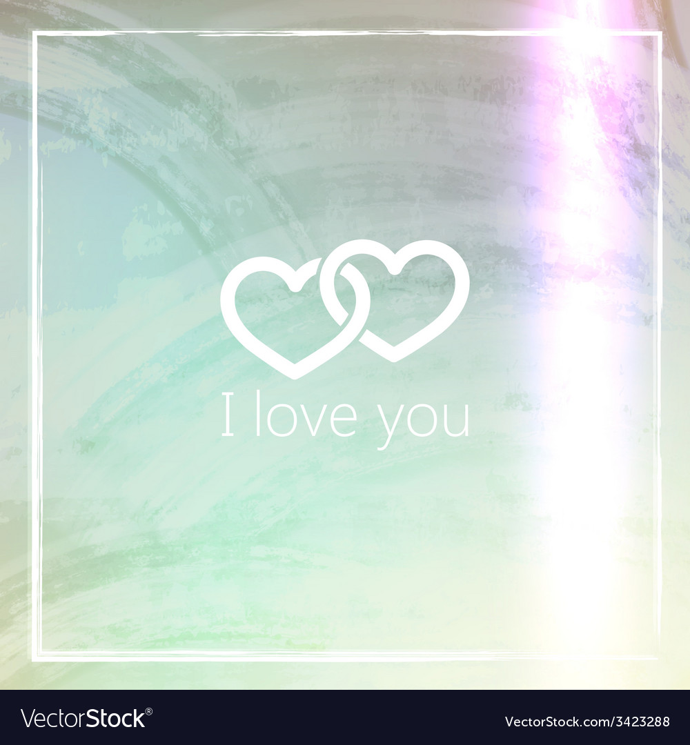 I love you abstract grunge background for web or vector | Price: 1 Credit (USD $1)
