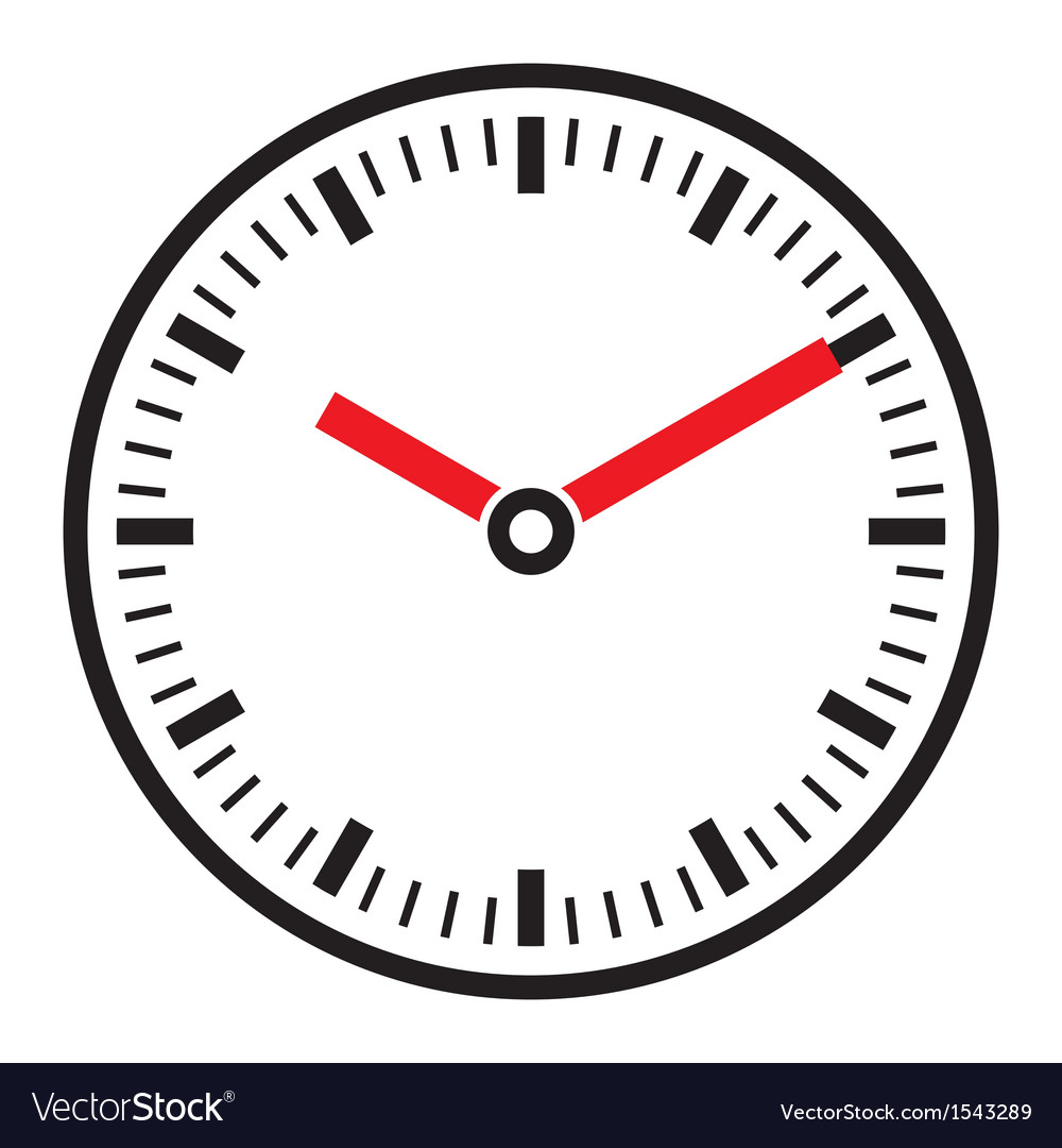Clock face - easy change time vector | Price: 1 Credit (USD $1)