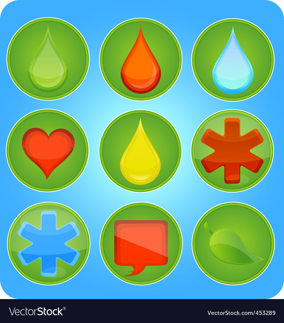 Medic icons vector | Price: 1 Credit (USD $1)