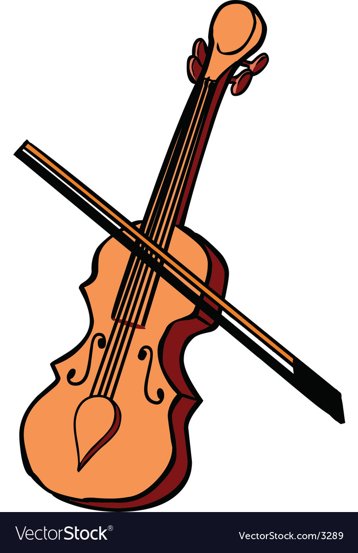 Violin instrument vector | Price: 1 Credit (USD $1)