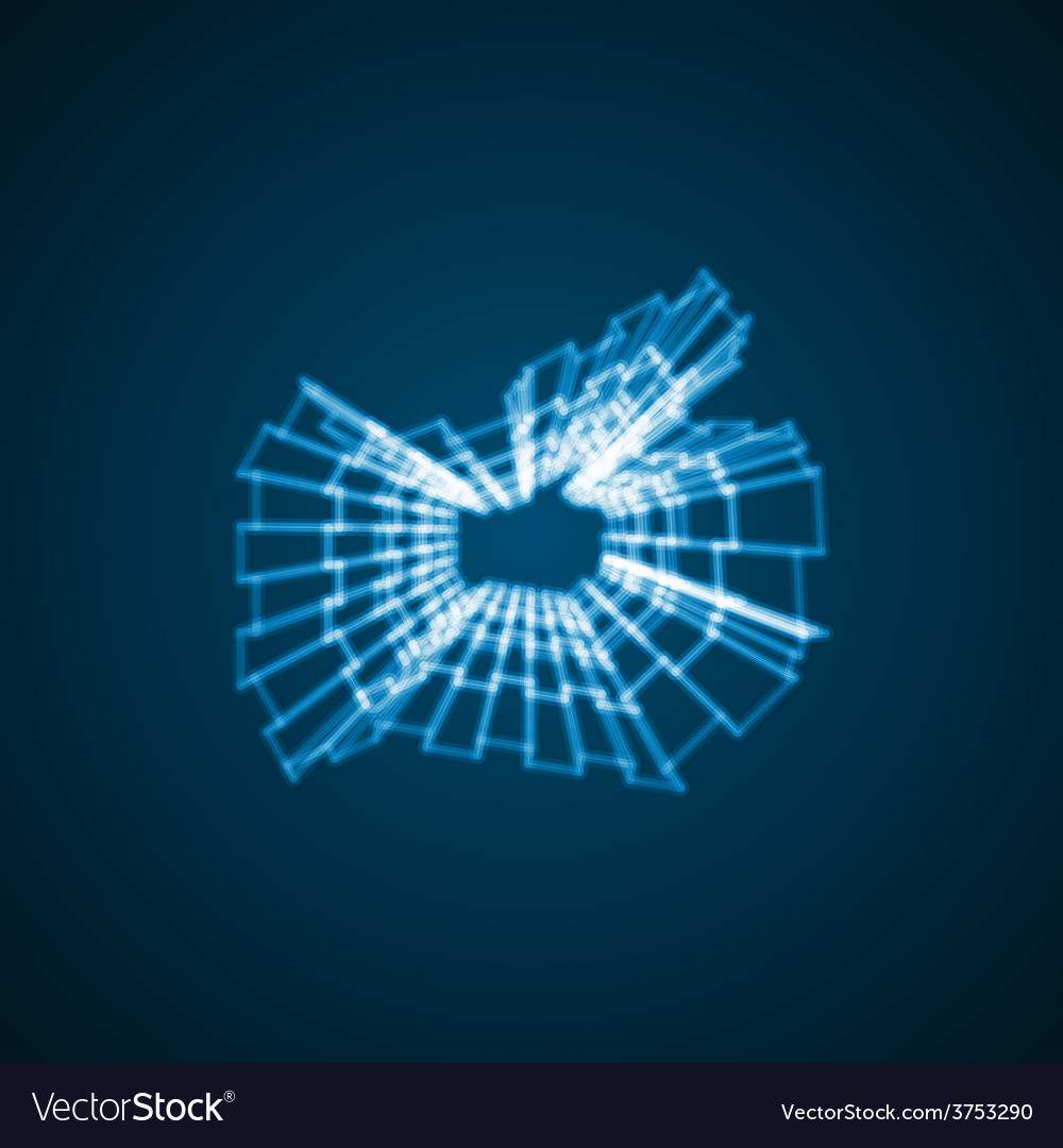 Abstract symbol of like vector | Price: 1 Credit (USD $1)