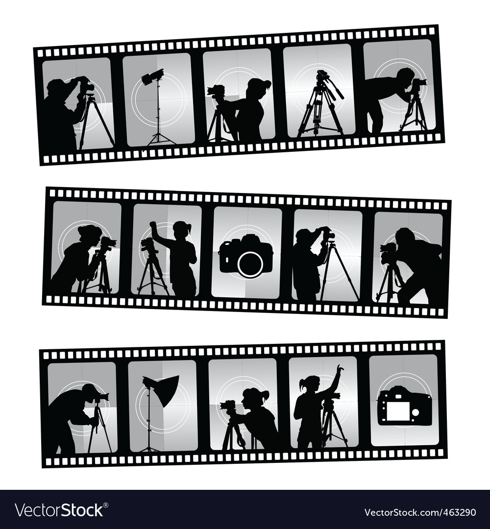 Photography filmstrip vector | Price: 1 Credit (USD $1)