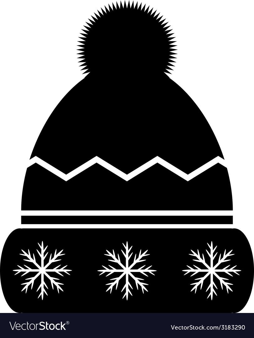 Winter hat icon vector | Price: 1 Credit (USD $1)
