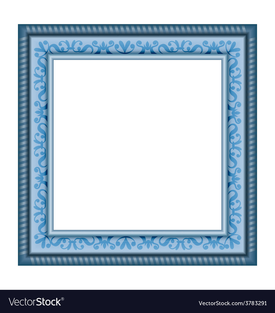 Frame isolated on white vector | Price: 1 Credit (USD $1)
