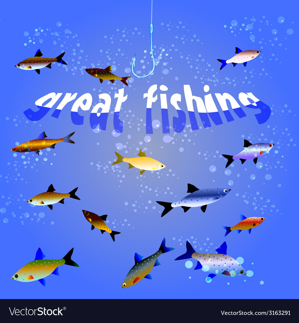 Great fishing vector   Price: 1 Credit (USD $1)