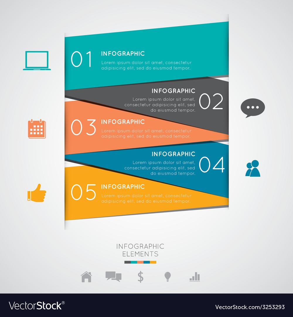 Modern infographics vector | Price: 1 Credit (USD $1)