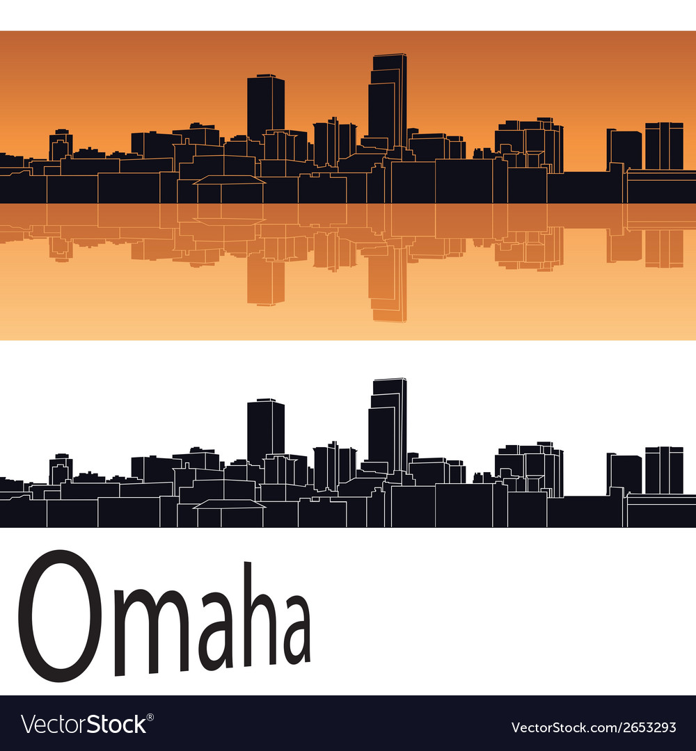 Omaha skyline vector | Price: 1 Credit (USD $1)