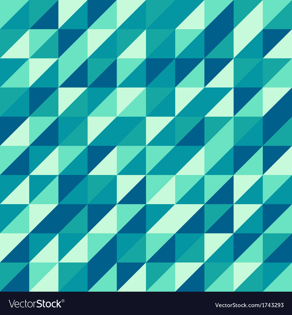 Vintage geometric retro pattern vector
