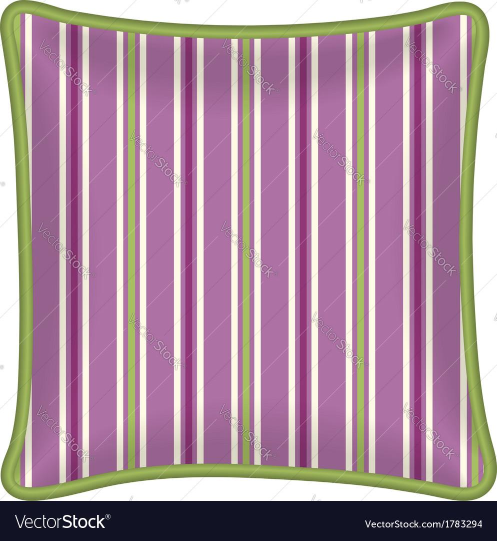Decorative pillow vector | Price: 1 Credit (USD $1)