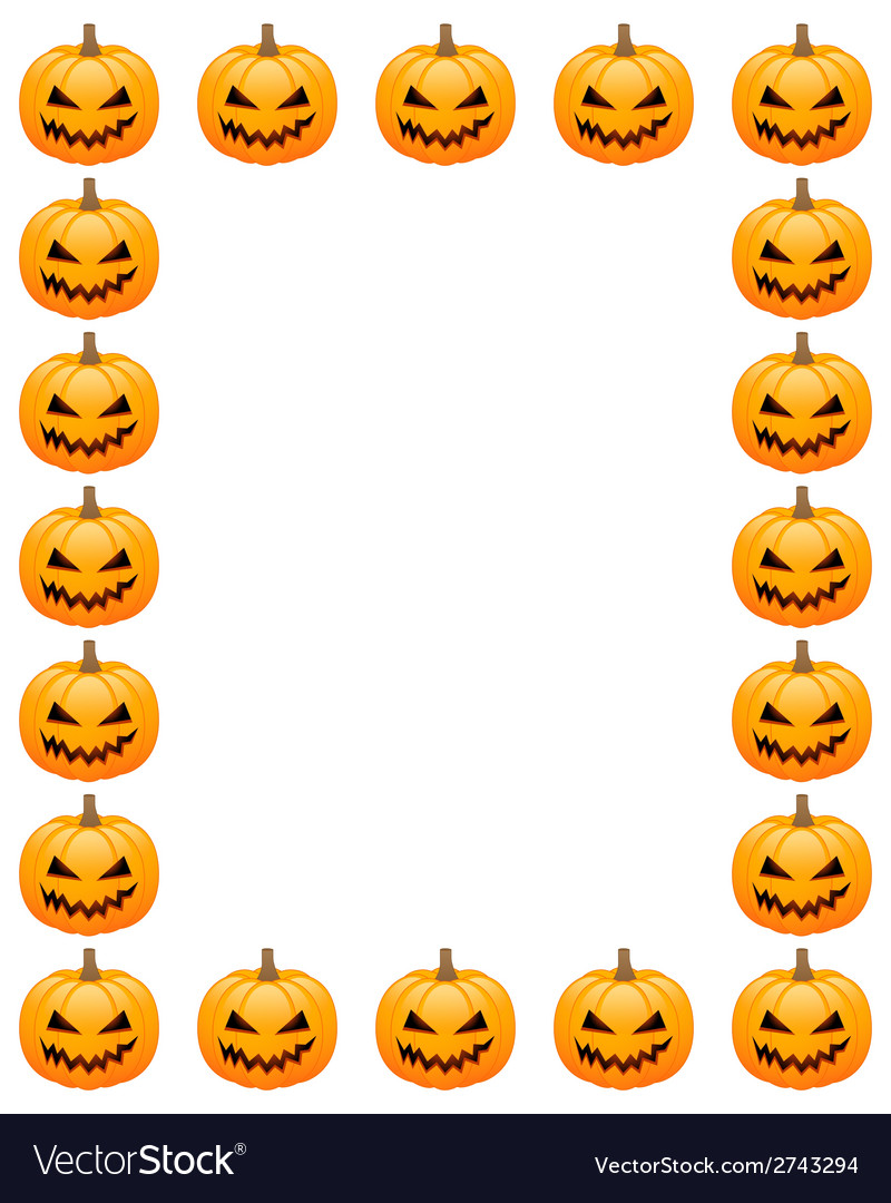Halloween photo frame vector | Price: 1 Credit (USD $1)