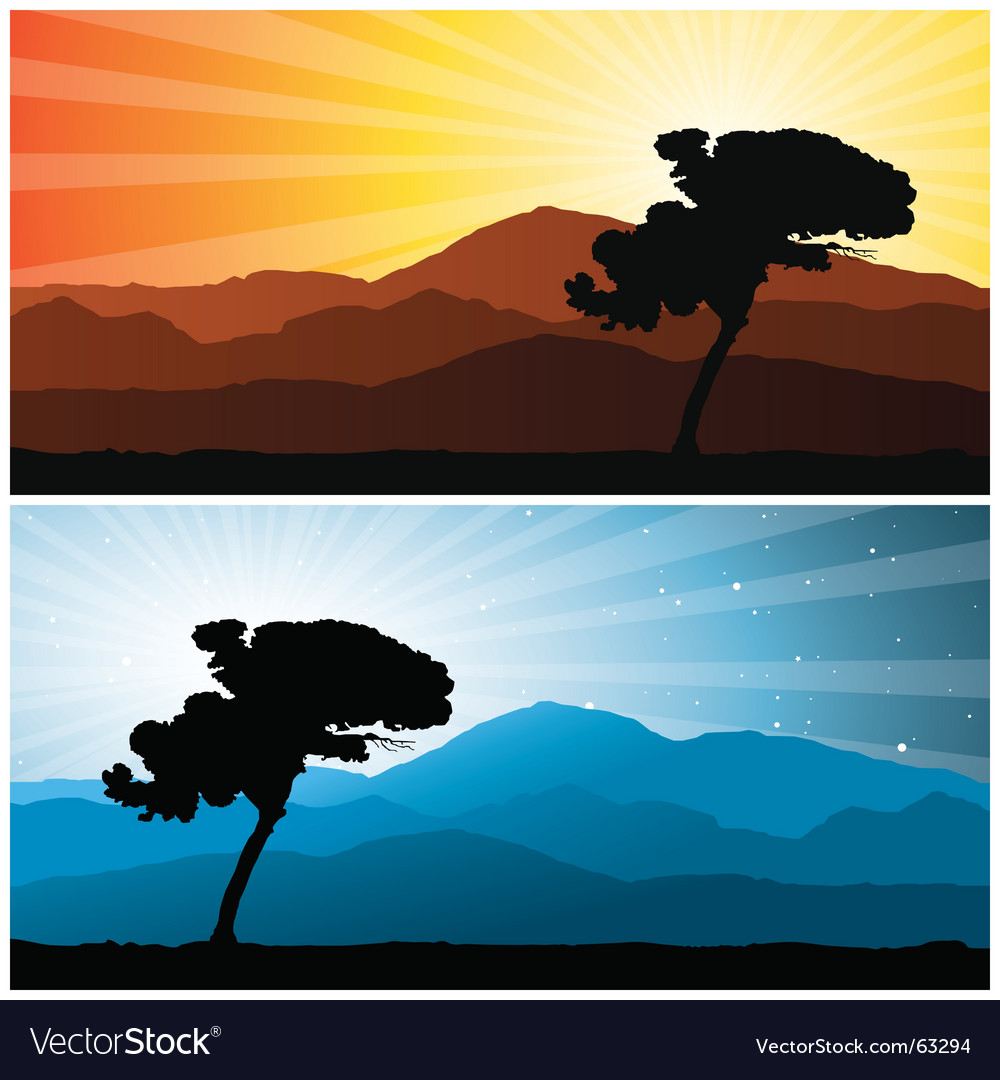 Landscape vector | Price: 1 Credit (USD $1)