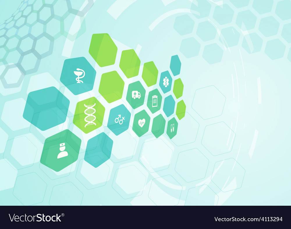 Medical background vector | Price: 1 Credit (USD $1)