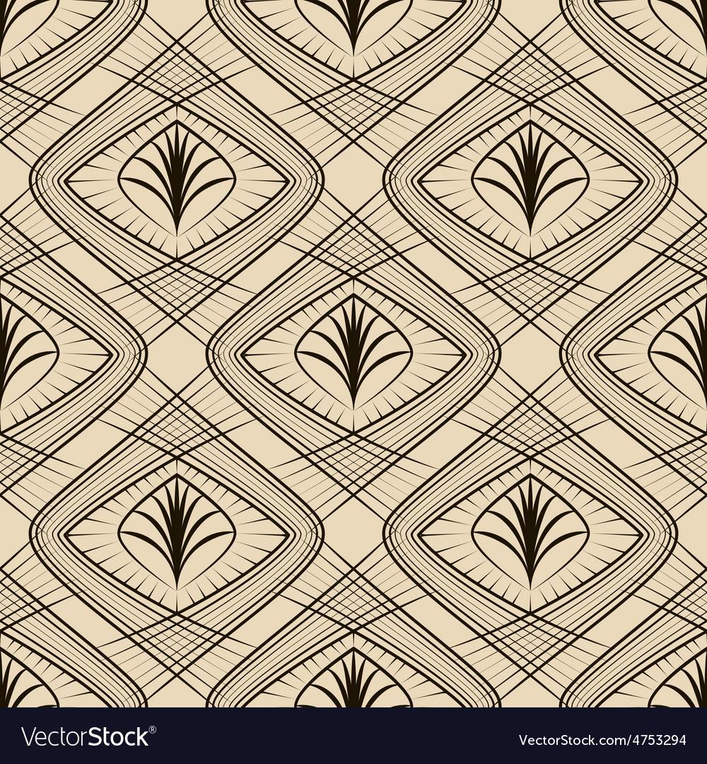 Seamless beautiful geometric pattern ornament vector   Price: 1 Credit (USD $1)