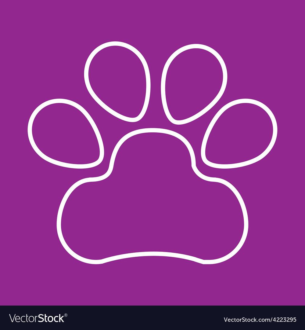 Dog icon vector   Price: 1 Credit (USD $1)