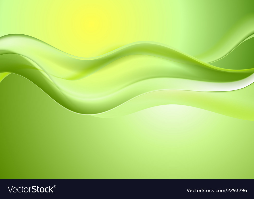 Abstract bright waves design vector | Price: 1 Credit (USD $1)