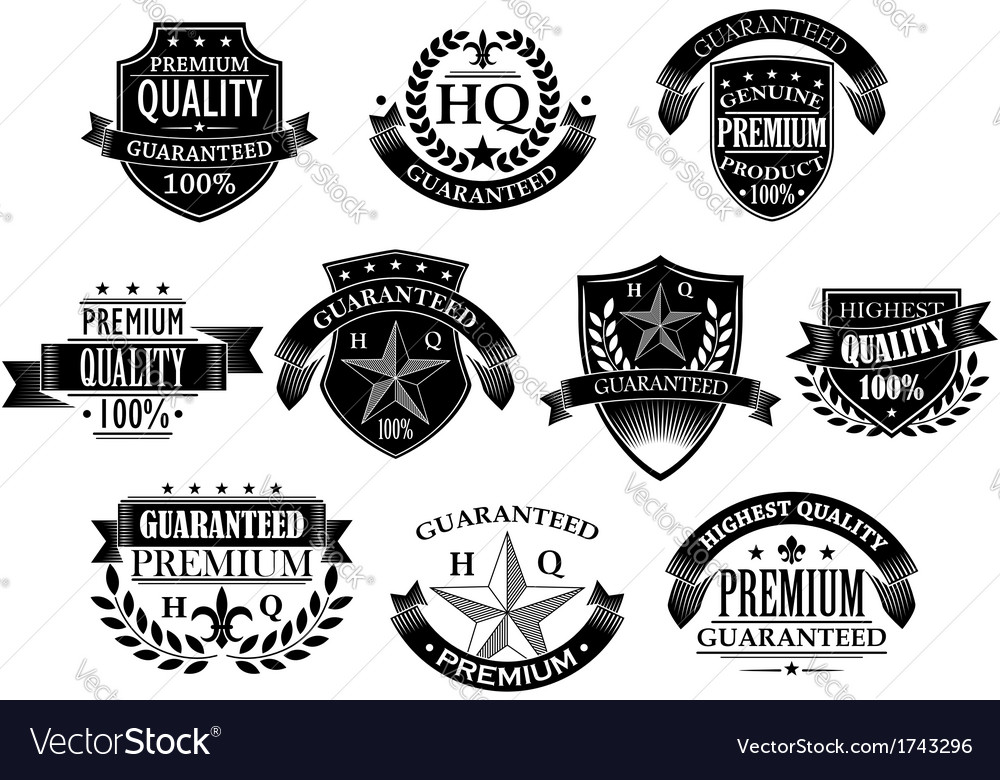 Banners and badges for retail design vector | Price: 1 Credit (USD $1)