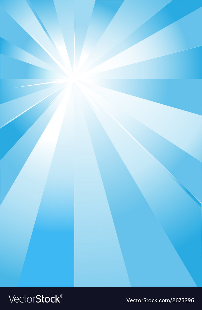 Blue light burst vector | Price: 1 Credit (USD $1)