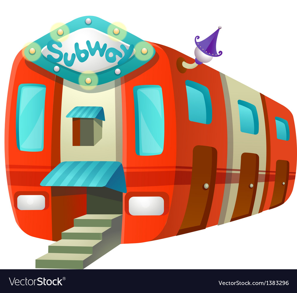 Icon subway vector | Price: 1 Credit (USD $1)
