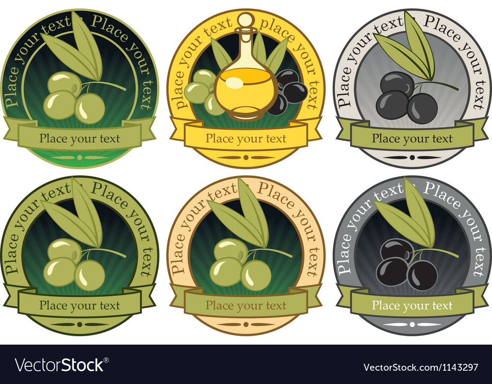 Collection olives vector   Price: 3 Credit (USD $3)