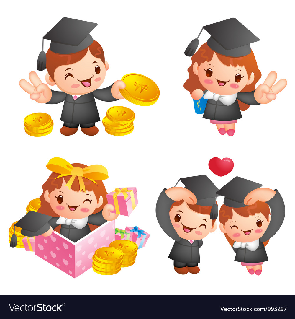 Graduation related event character vector | Price: 5 Credit (USD $5)