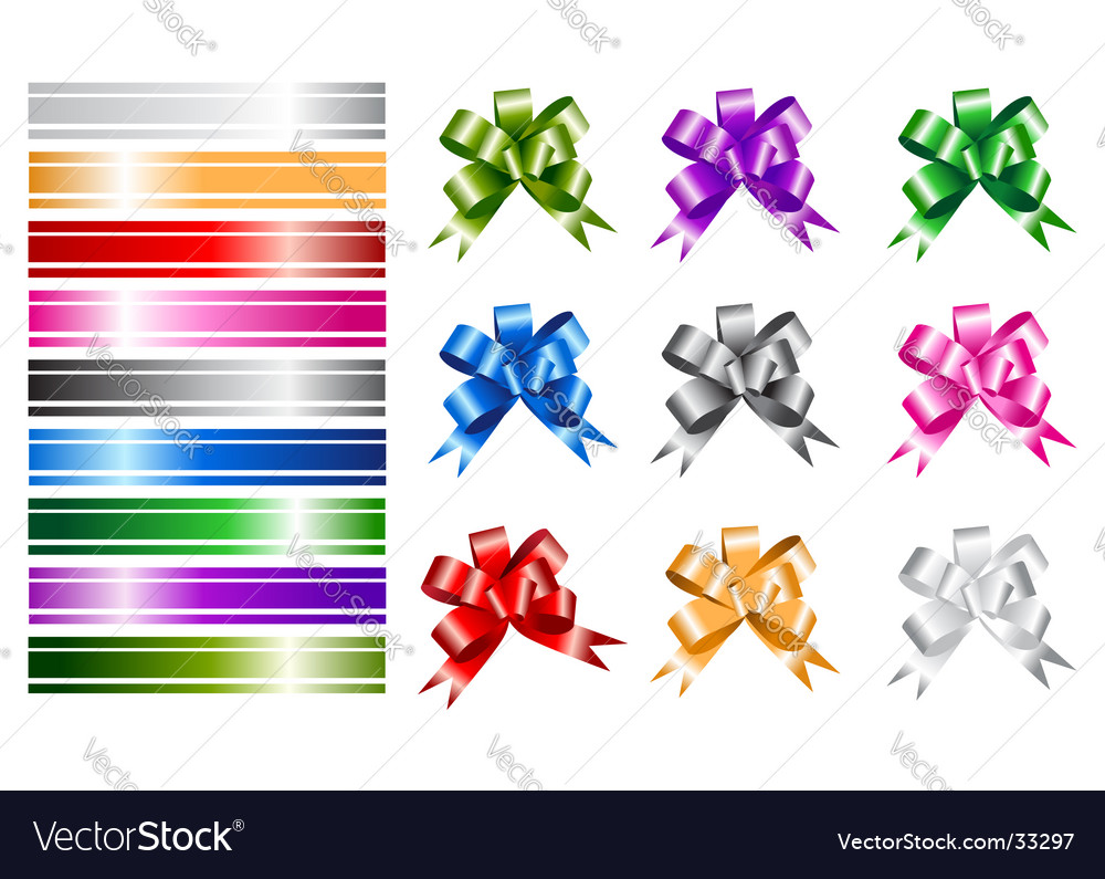 Ribbon collections for your design vector | Price: 1 Credit (USD $1)