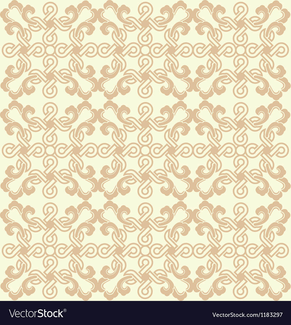 Seamless delicate geometric pattern vector | Price: 1 Credit (USD $1)