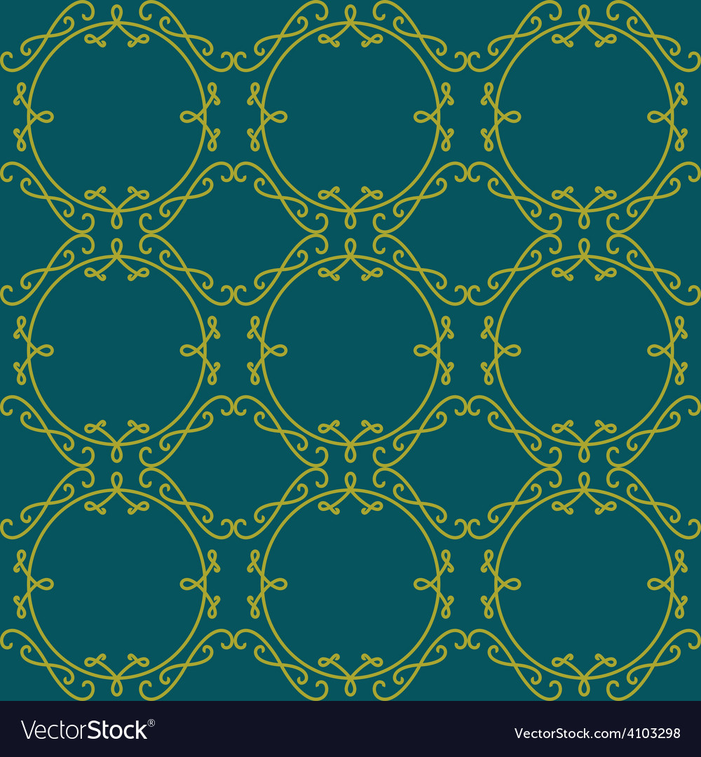 Lace seamless pattern elegant vintage background vector | Price: 1 Credit (USD $1)