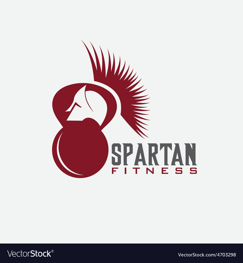 Spartan fitness design template vector | Price: 1 Credit (USD $1)
