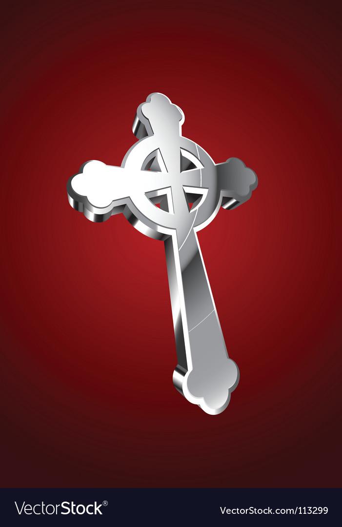 Celtic cross vector | Price: 3 Credit (USD $3)