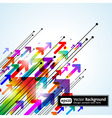 Abstract colored gradient vector