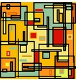 Abstract geometric colorful pattern eps 8 vector